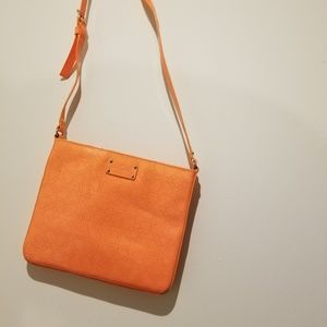 Kate Spade Crossbody Orange Patent Leather